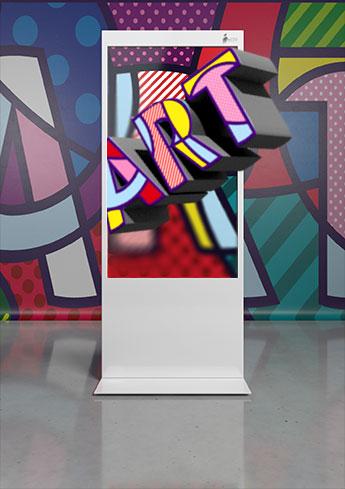 Märkte: Kunst in 3D ohne Brille
