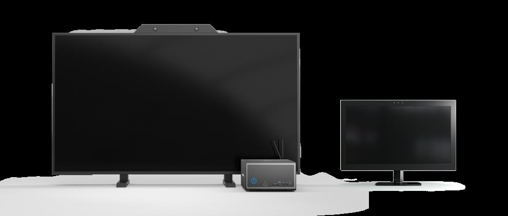 Brillenloses 3D Display System ZVIEW 65 und 28 Zoll